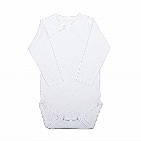 DOUBLE-BREASTED NATAL BODYSUIT