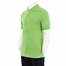 POCKET AND CUFF PIQUE POLO SHIRT. CLASSICAL STYLE