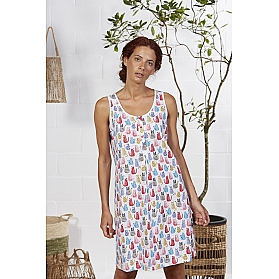 CAMISOLA MUJER COTTON CATS