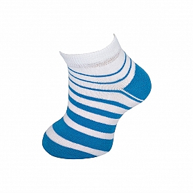 PINSTRIPED INVISIBLE SOCKS