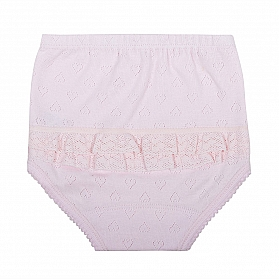 2503 HEARTS DIAPER COVER WITH LACE